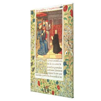 Atlas Ms Fr.2679 f.377 Jacques Coeur (c.1395-1456) Canvas Print
