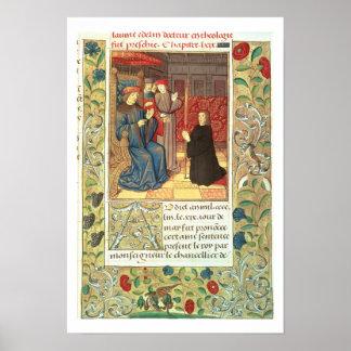 Atlas Ms Fr.2679 f.377 Jacques Coeur (c.1395-1456) Poster