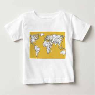 Atlas mustard drawing baby T-Shirt