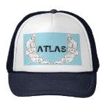 atlas navy hat.. trucker hat
