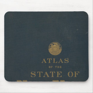 Atlas New York state Mouse Pad