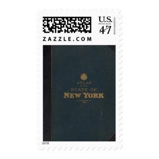 Atlas New York state Postage