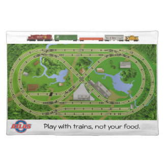 Atlas O Layout Placemat