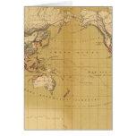 Atlas of 1550 greeting card