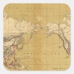 Atlas of 1550 square sticker