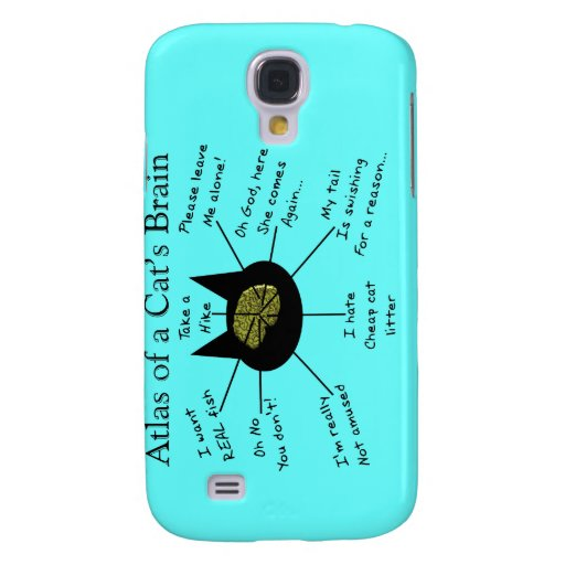 Atlas Of a Cat's Brain Samsung Galaxy S4 Covers