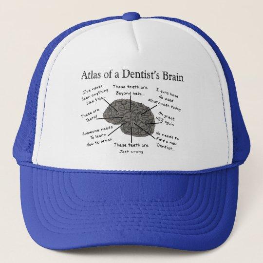 Atlas of a Dentist's Brain Trucker Hat