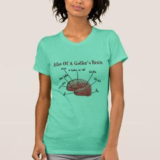 Atlas of a Golfer's Brain T-Shirt