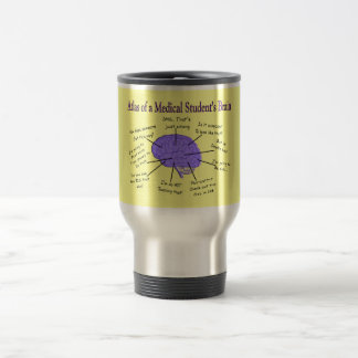 Atlas of a Medical Student s Brain 2 Mugs