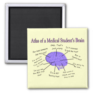 Atlas of a Medical Student's Brain #2 Magnet