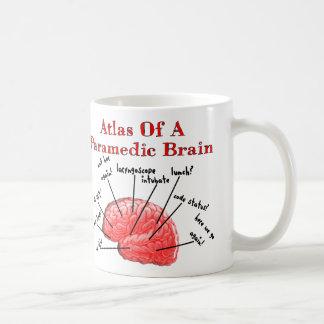Atlas of a Paramedic Brain Classic White Coffee Mug
