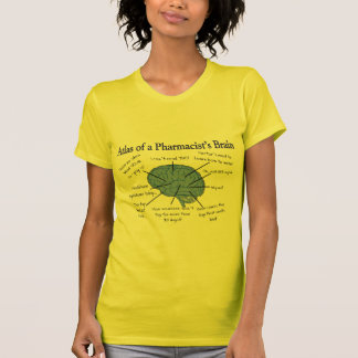 Atlas Of A Pharmacist s Brain-Hilarious T-shirt