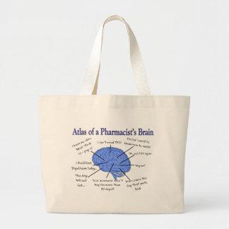 Atlas Of A Pharmacist's Brain-Hilarious Bag