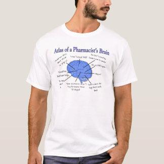 Atlas Of A Pharmacist's Brain-Hilarious T-Shirt