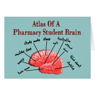 Atlas of a Pharmacy Student Brain Card