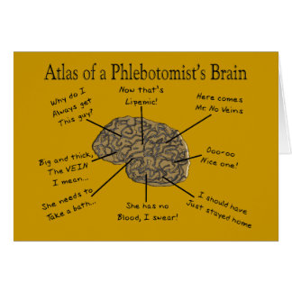Atlas of a Phlebotomist's Brain Card