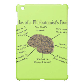 Atlas of a Phlebotomist's Brain Cover For The iPad Mini