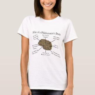 Atlas of a Phlebotomist's Brain T-Shirt