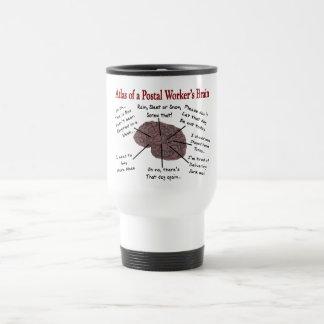 Atlas of a Postal Worker's Brain Travel Mug