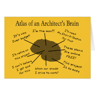 Architect Funny Cards Zazzle