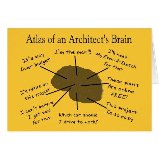 Atlas of an Architect's Brain Card