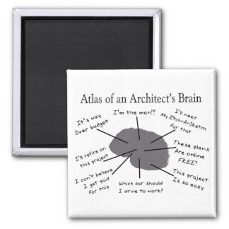 Atlas of an Architect's Brain Magnets