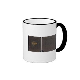 Atlas of Fresno County Ringer Coffee Mug