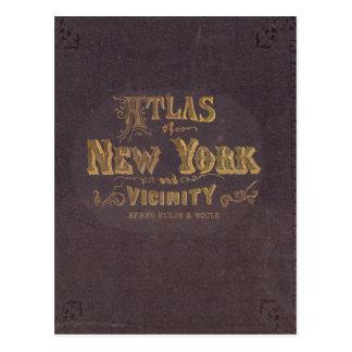 Atlas of New York vicinity Postcard