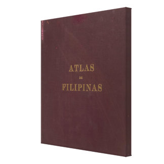 Atlas of the Philippines Canvas Print