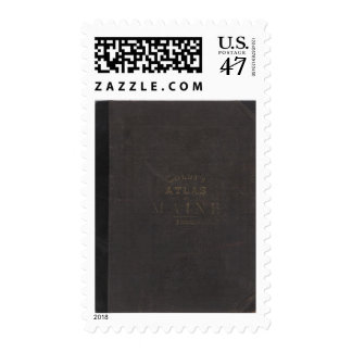 Atlas of the State of Maine Postage
