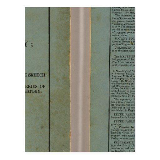 Atlas of universal history post card