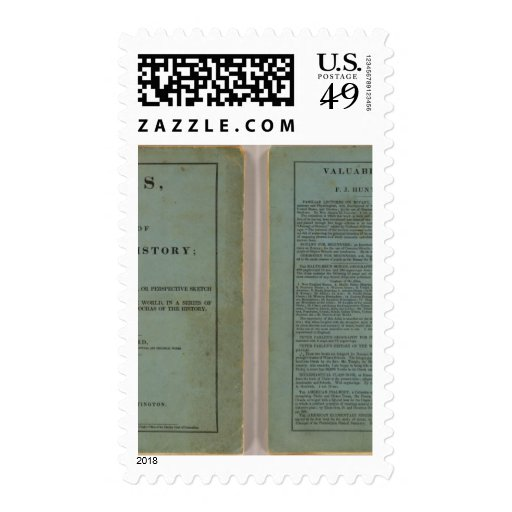 Atlas of universal history stamp