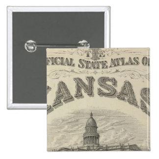 Atlas oficial del estado de Kansas de la página de Pin