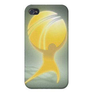 ATLAS oficial ENCOGIDO iPhone 4/4S Carcasa