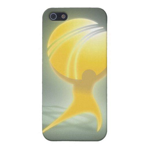ATLAS oficial ENCOGIDO iPhone 5 Funda