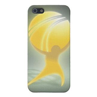 ATLAS oficial ENCOGIDO iPhone 5 Fundas