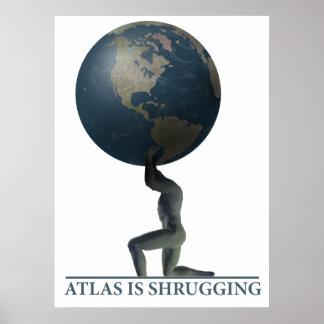 Atlas Posters