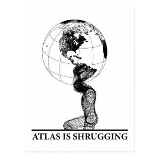 Atlas Postcard