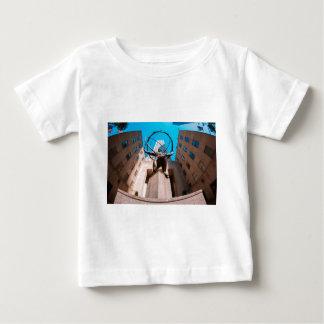 Atlas Shrouded by 30 Rockefeller Plaza Baby T-Shirt