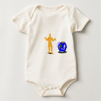 Atlas Shrugged Baby Bodysuit