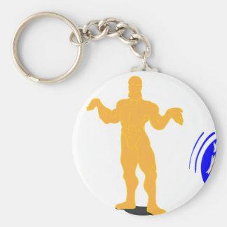 Atlas Shrugged Basic Round Button Keychain