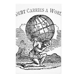 Atlas Shrugged / Debt Quote Stationery