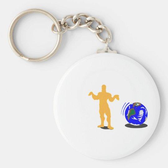 Atlas Shrugged Keychain