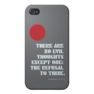Atlas Shrugged Quote Cover For iPhone 4