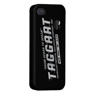 Atlas Shrugged Taggart Transcontinental iPhone 4 Covers For iPhone 4