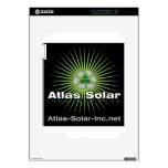 Atlas Solar Inc. iPad 2 Calcomanías