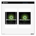 Atlas Solar Inc. Pegatinas Skins Para Kindle Fire