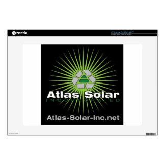 Atlas Solar Inc. Decal For Laptop