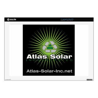Atlas Solar Inc. Laptop Decals