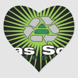 Atlas Solar Inc Heart Stickers